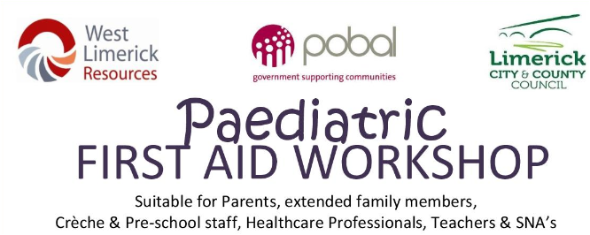 Free Paediatric First Aid Workshop