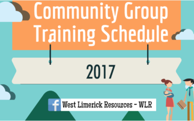Community Group Training Schedule 2017