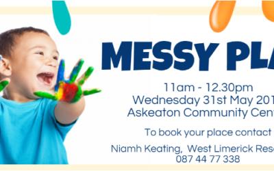 Messy Play Workshop in Askeaton