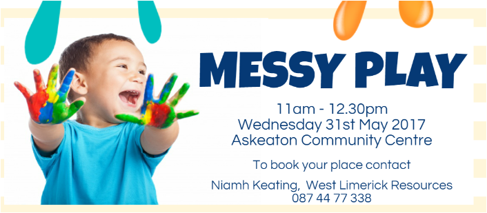 Messy Play Workshop in Askeaton