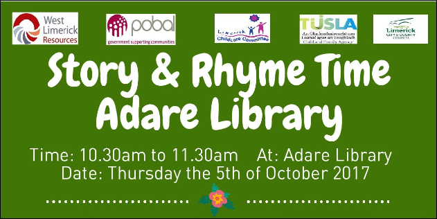 Story & Rhyme Time Adare Library