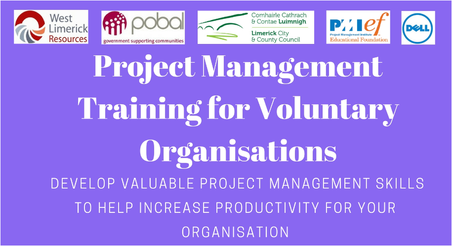 Project Management Training for Voluntary Organisations