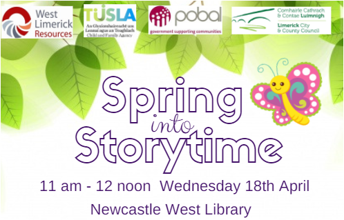 'Spring into Story Time Event'