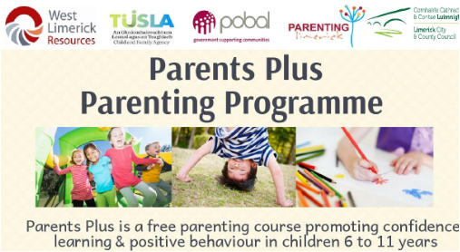 Parents Plus Programme, Newcastle West.